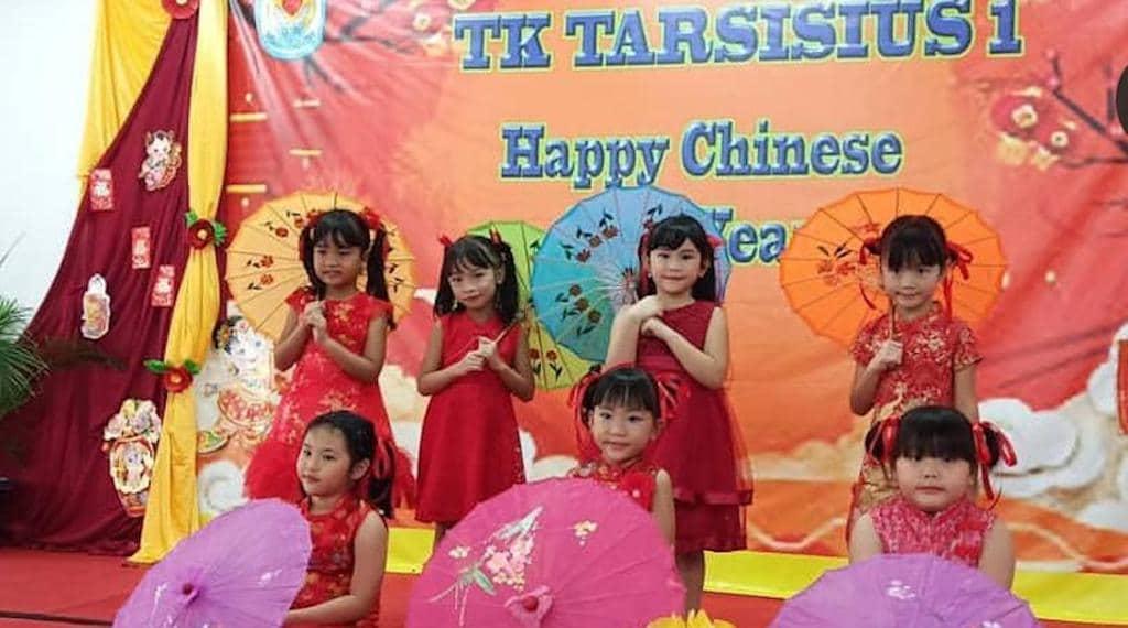 Perayaan Imlek TK Tarsisius 1