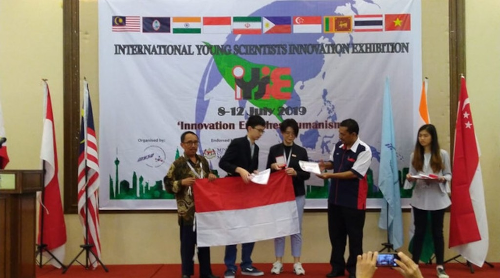 Medali Emas Lomba KIR Internasional di Malaysia